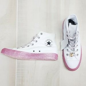 CONVERSE All Stars x Miley Cyrus Sneakers sz 8